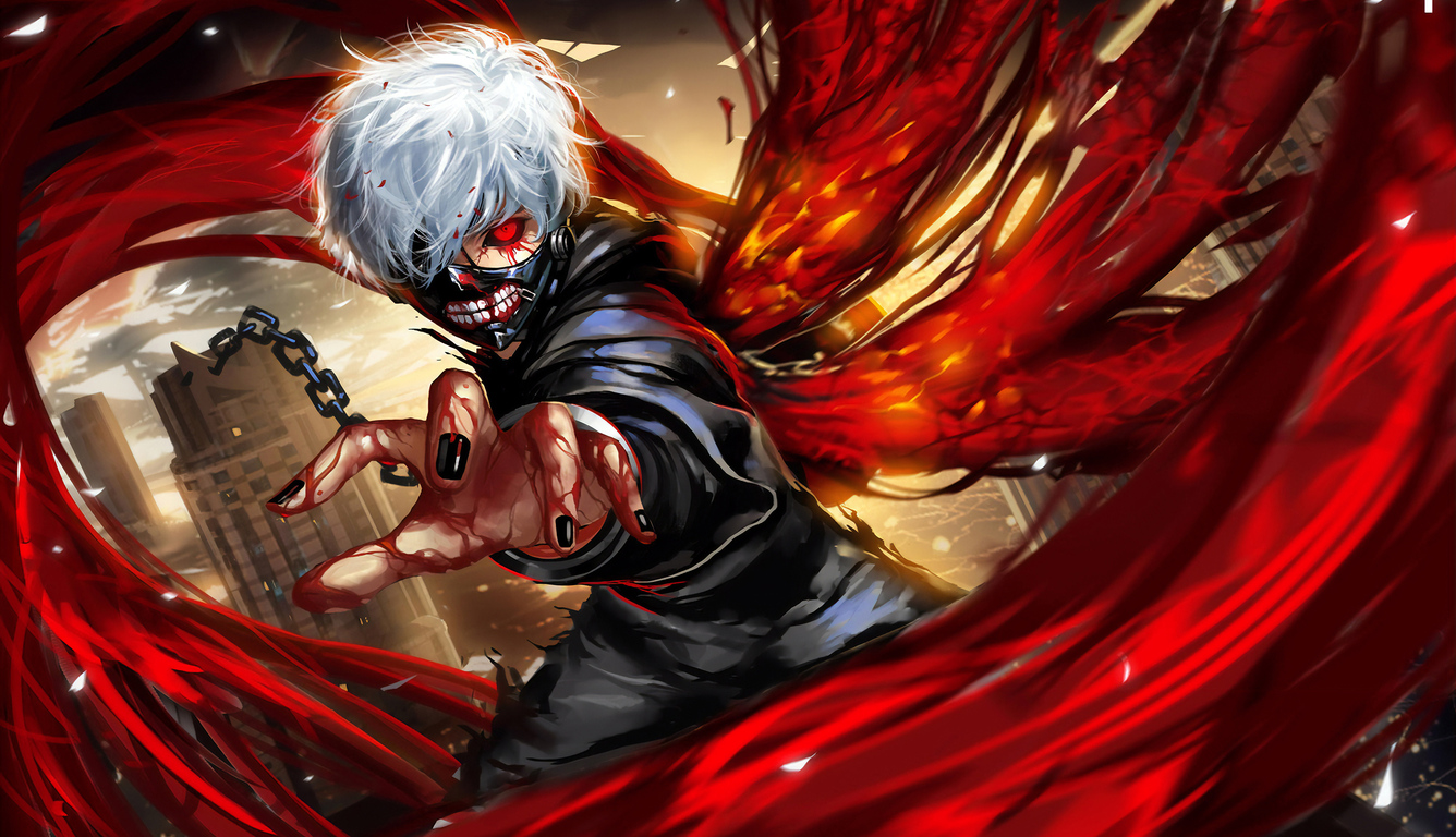 1336x768 Tokyo Ghoul Fanart Laptop Hd Hd 4k Wallpapers Images Backgrounds Photos And Pictures