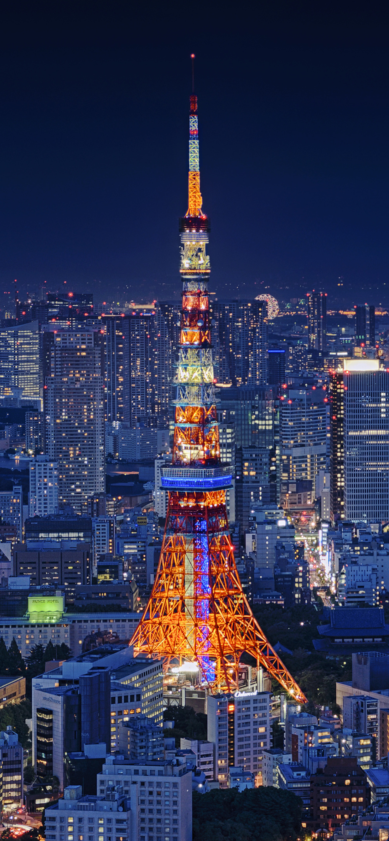 1242x2688 Tokyo Tower 4k Iphone Xs Max Hd 4k Wallpapers Images