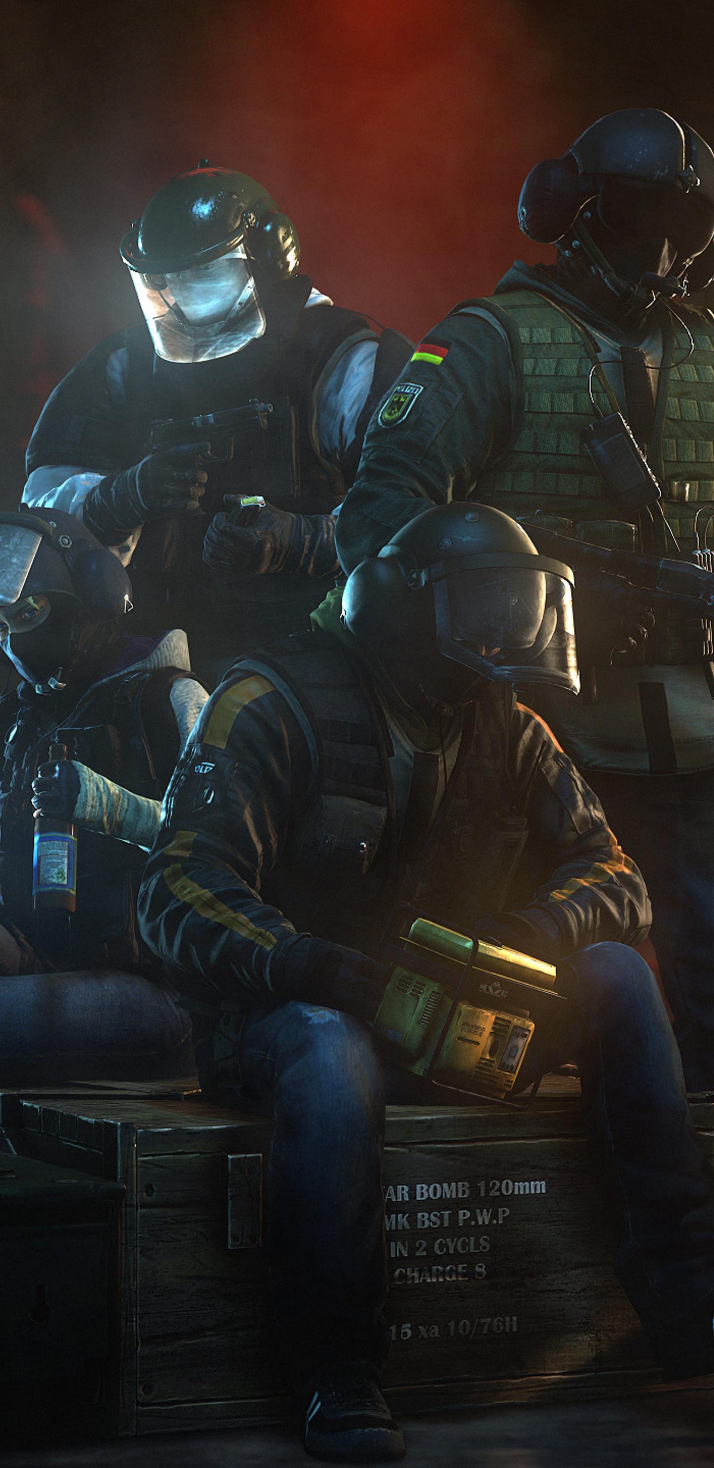 Tom Clancy Rainbow Six Siege 8c