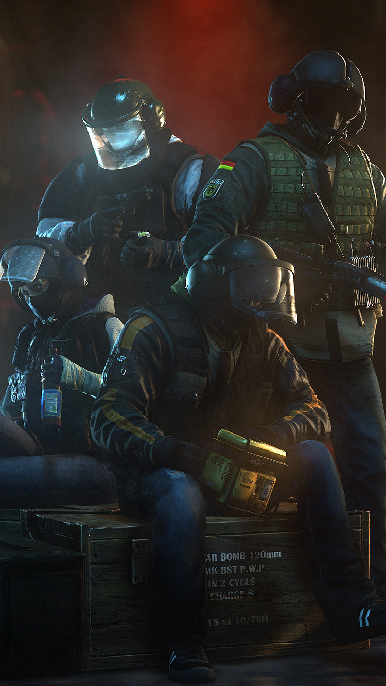 750x1334 Tom Clancy Rainbow Six Siege Iphone 6 Iphone 6s Iphone 7