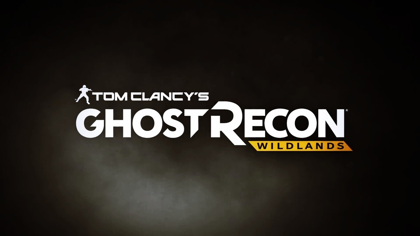 Ghost Recon Wildlands Wallpaper 1920x1080: 1366x768 Tom Clancys Ghost Recon Wildlands Logo 1366x768