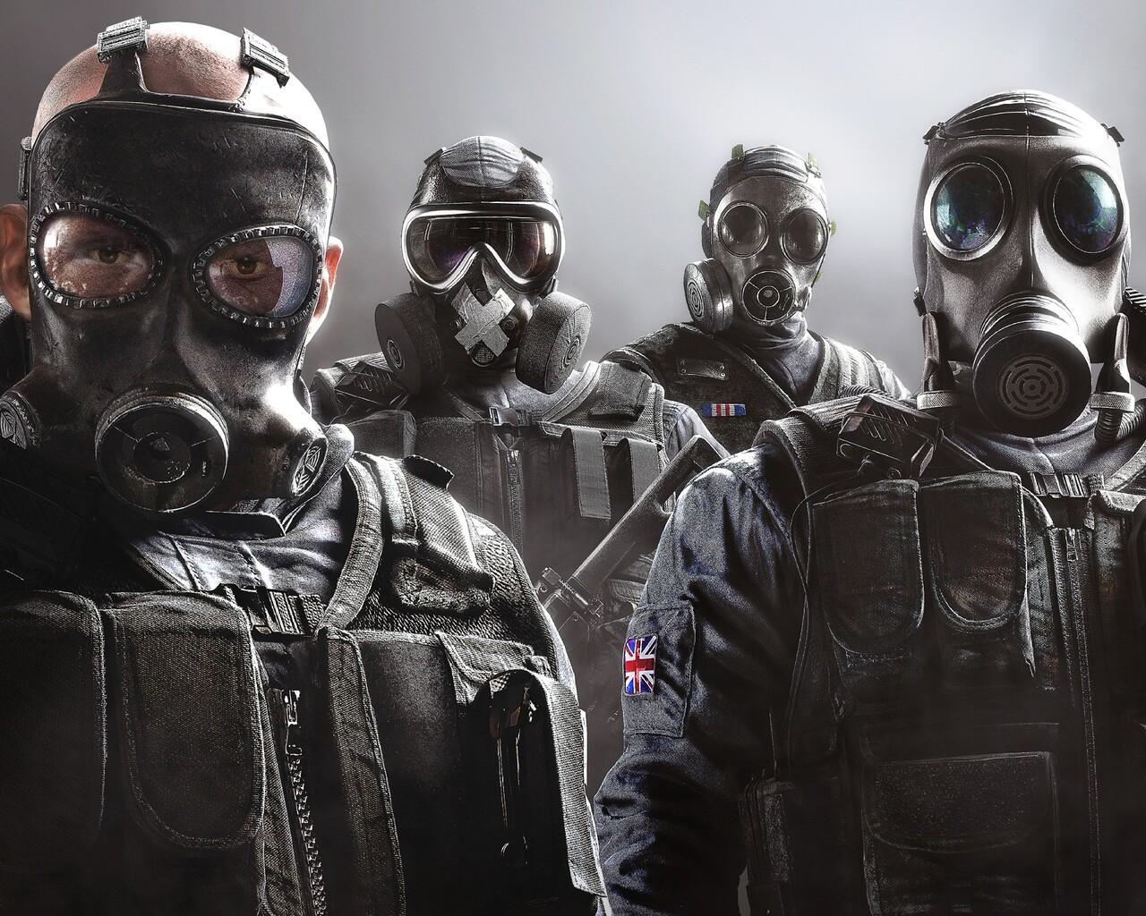 Soldier Video Games Rainbowsix Siege Digital Art Dark: 1280x1024 Tom Clancys Rainbow Six Siege 1280x1024
