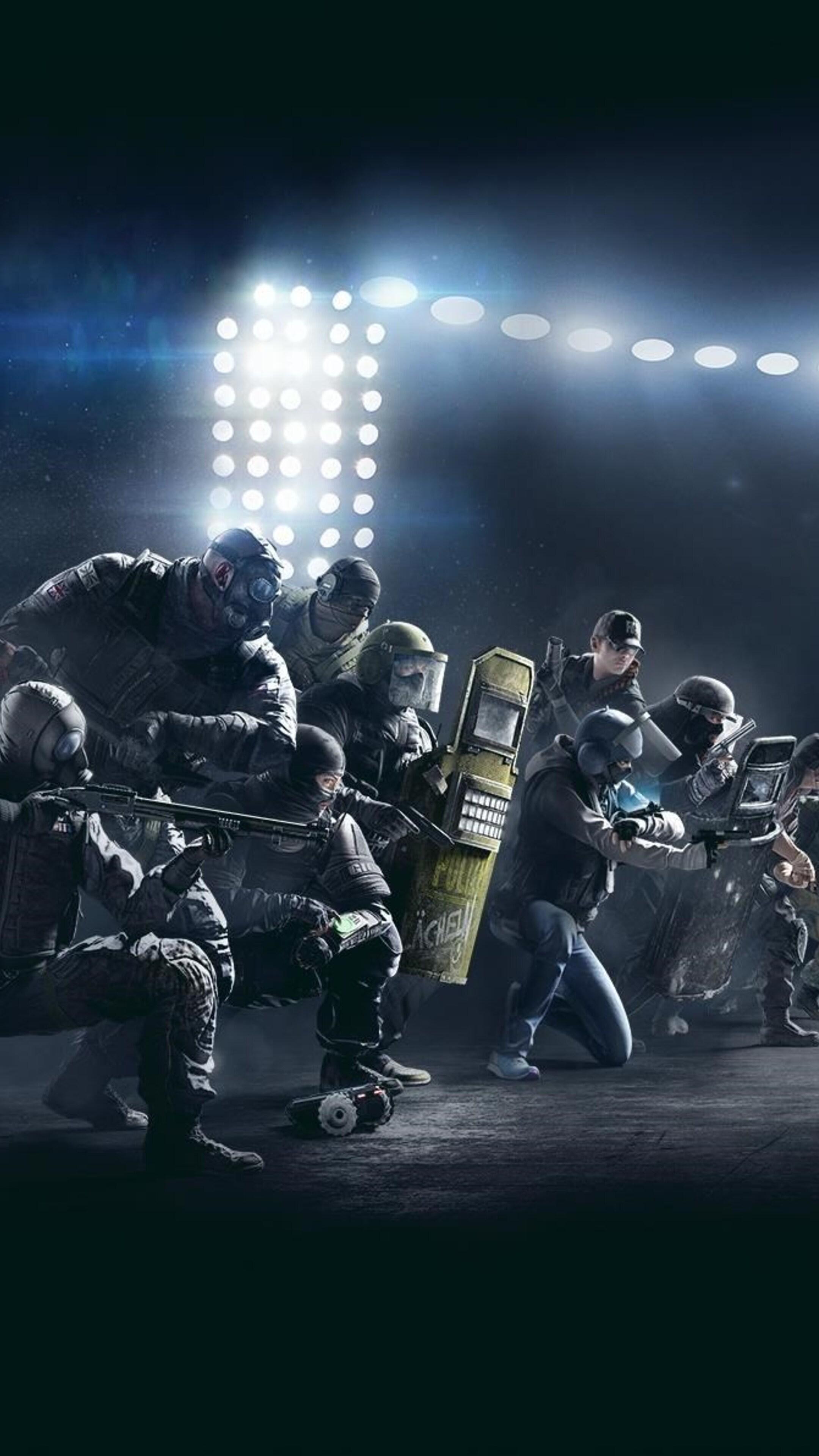 2160x3840 Tom Clancys Rainbow Six Siege Pro League Sony