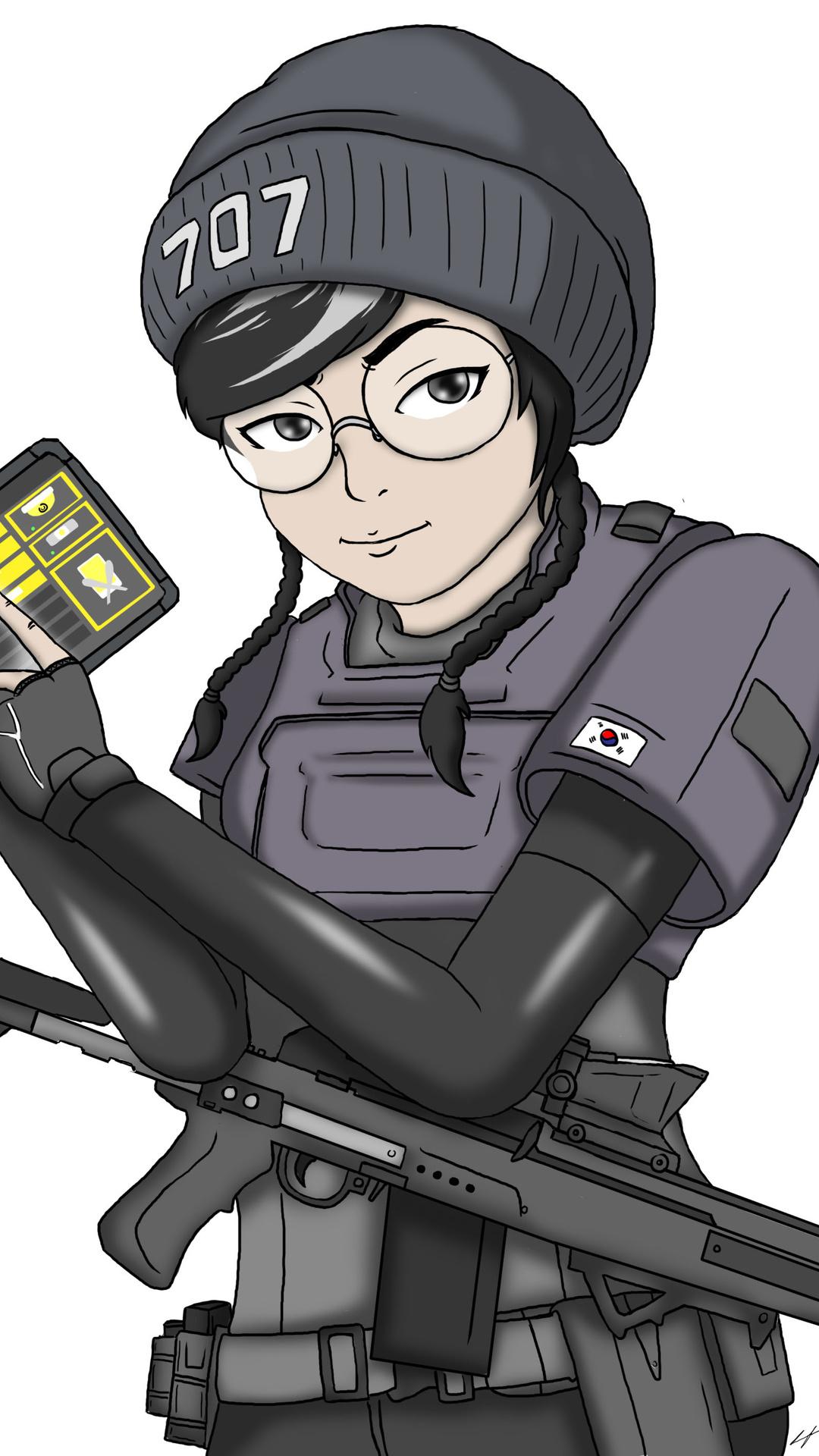 1080x1920 Tom Clancys Rainbow Six Siege Dokkaebi 4k Iphone 7 6s 6