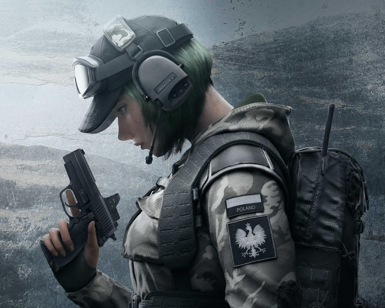 Rainbow Six Siege Wallpaper 4k: 1280x1024 Tom Clancys Rainbow Six Siege Soldier 5k