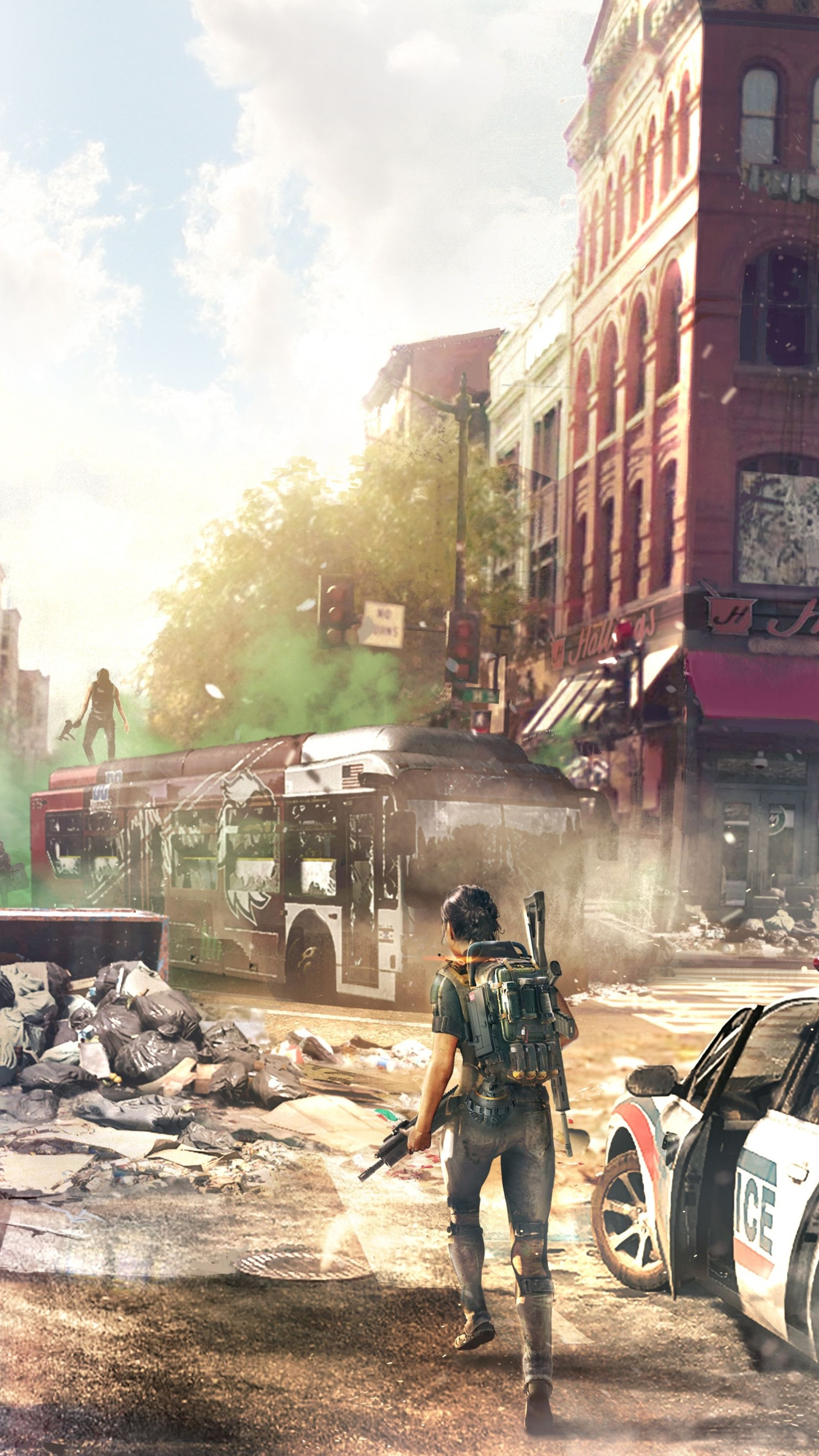 2160x3840 Tom Clancys The Division 2 Concept Art Downtown 8k