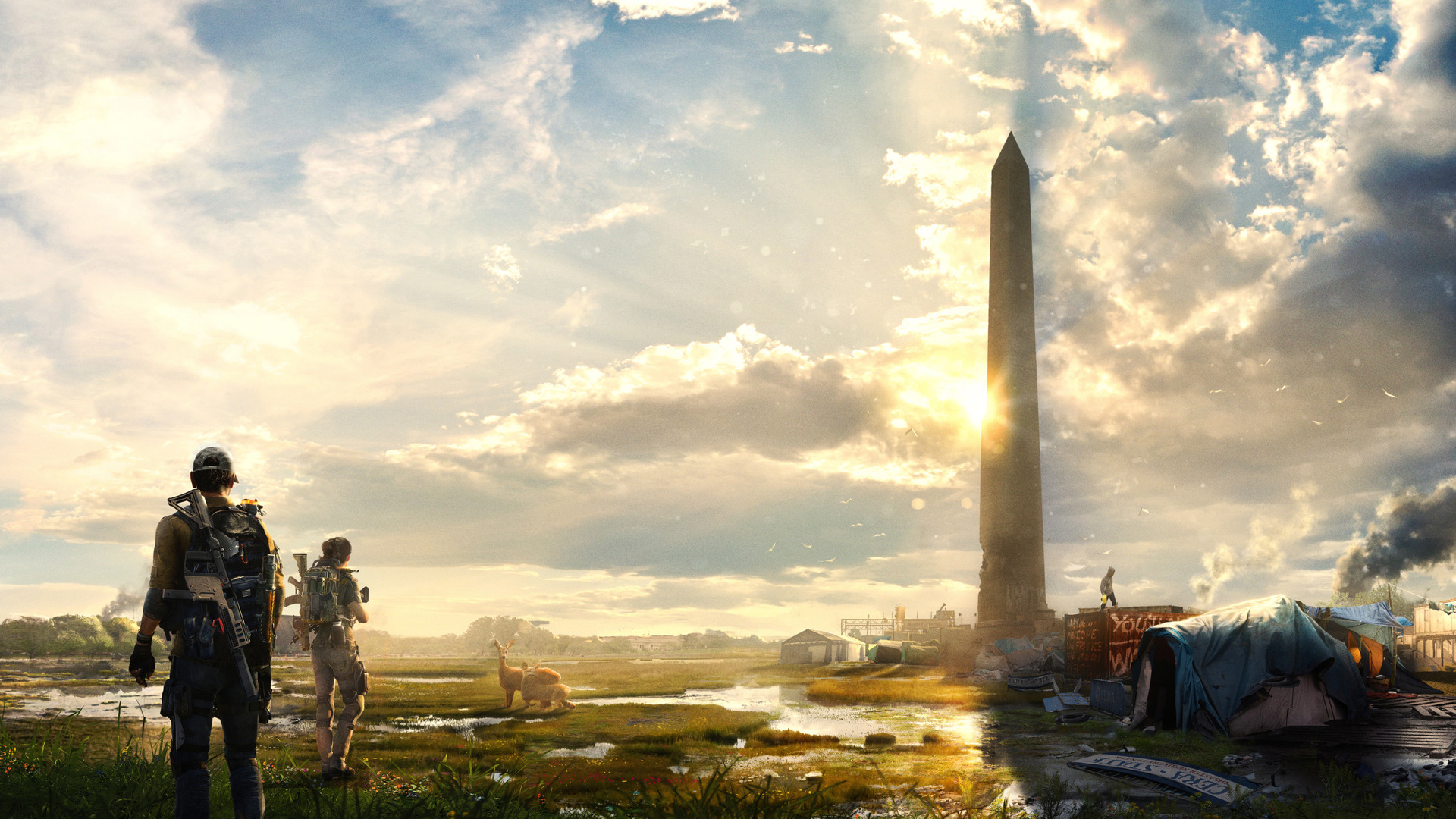 1920x1080 Tom Clancys The Division 2 E3 Laptop Full HD ...