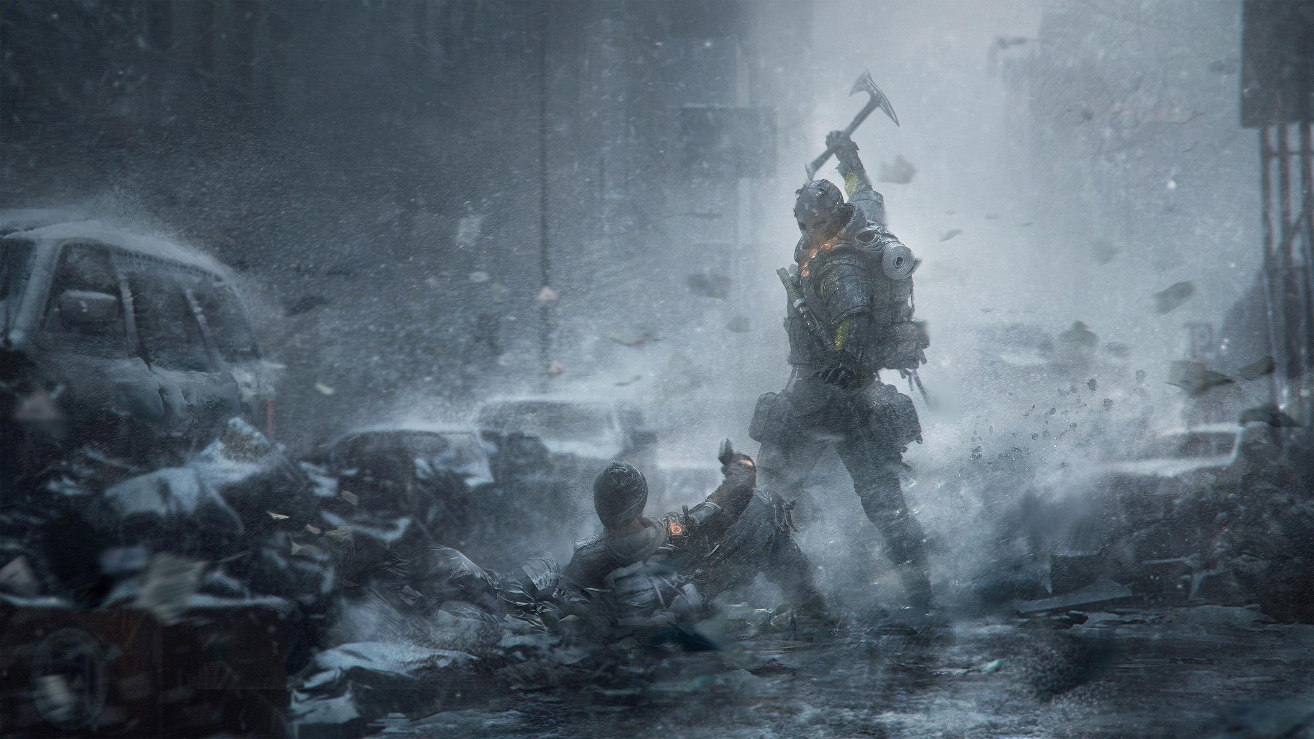 Rainbow Six Siege Wallpaper 4k: 2560x1440 Tom Clancys The Division Survival Artwork 1440P