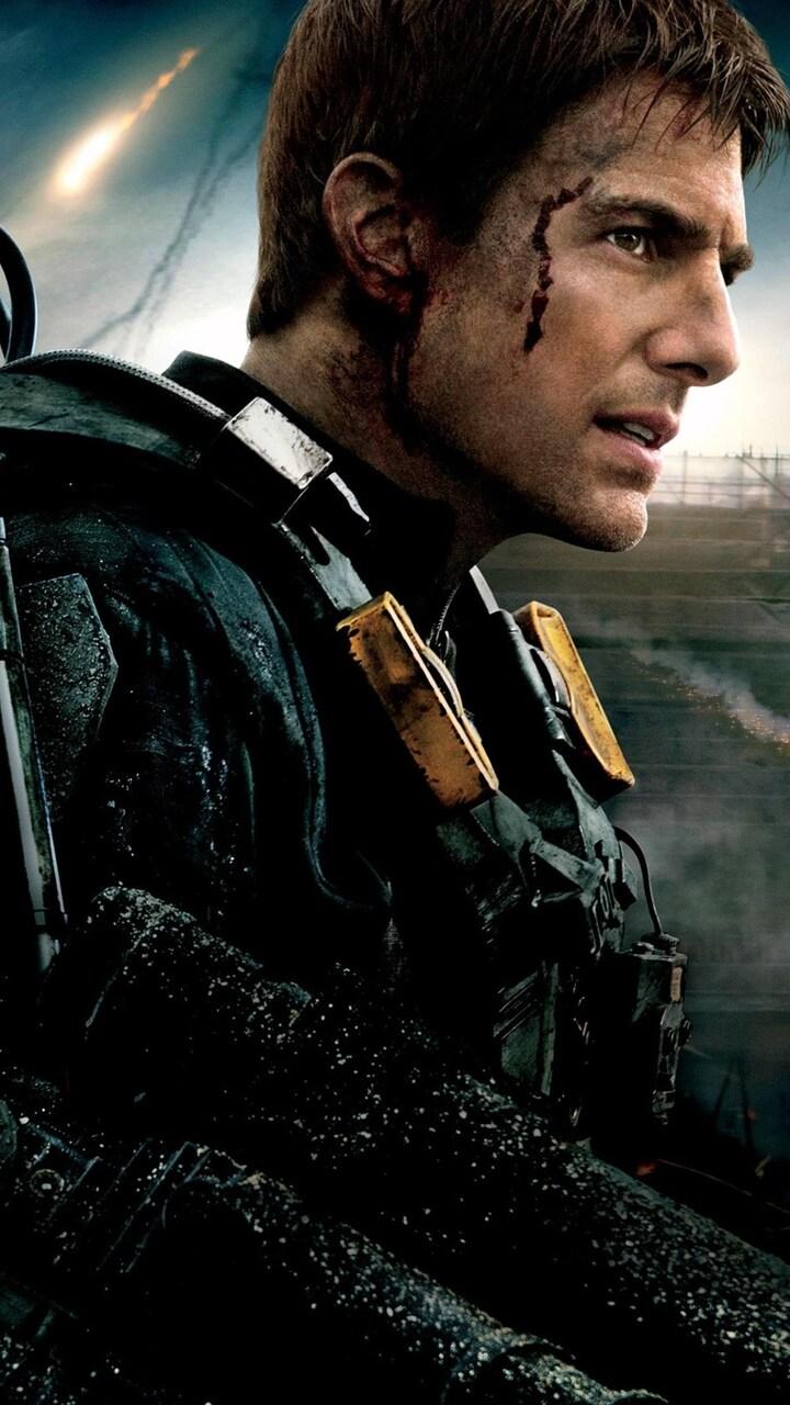720x1280 Tom Cruise In Edge Of Tomorrow Movie Moto G,X ...
