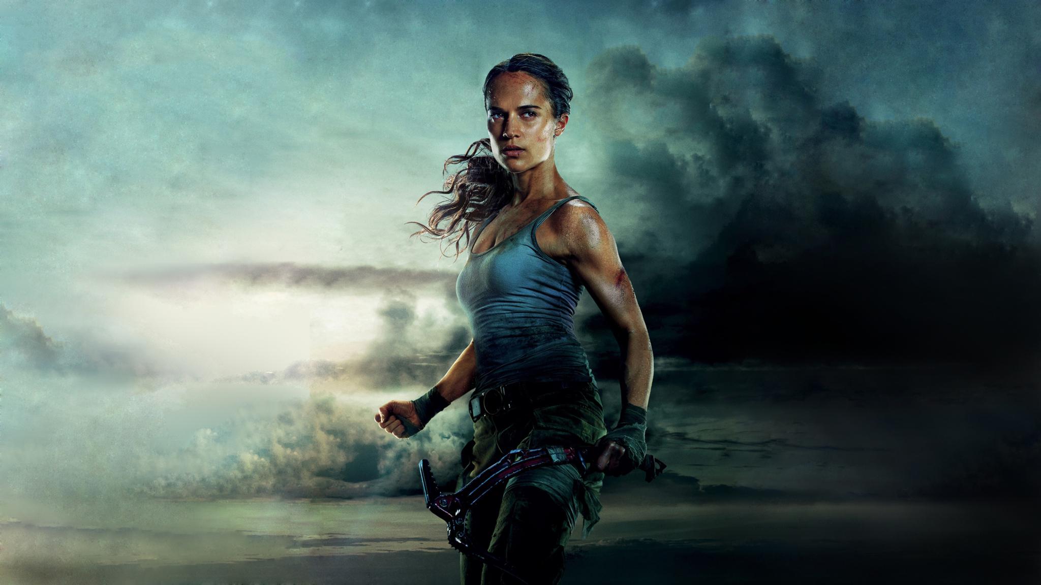 2048x1152 Tomb Raider 2018 Movie Alicia Vikander 2048x1152 ...