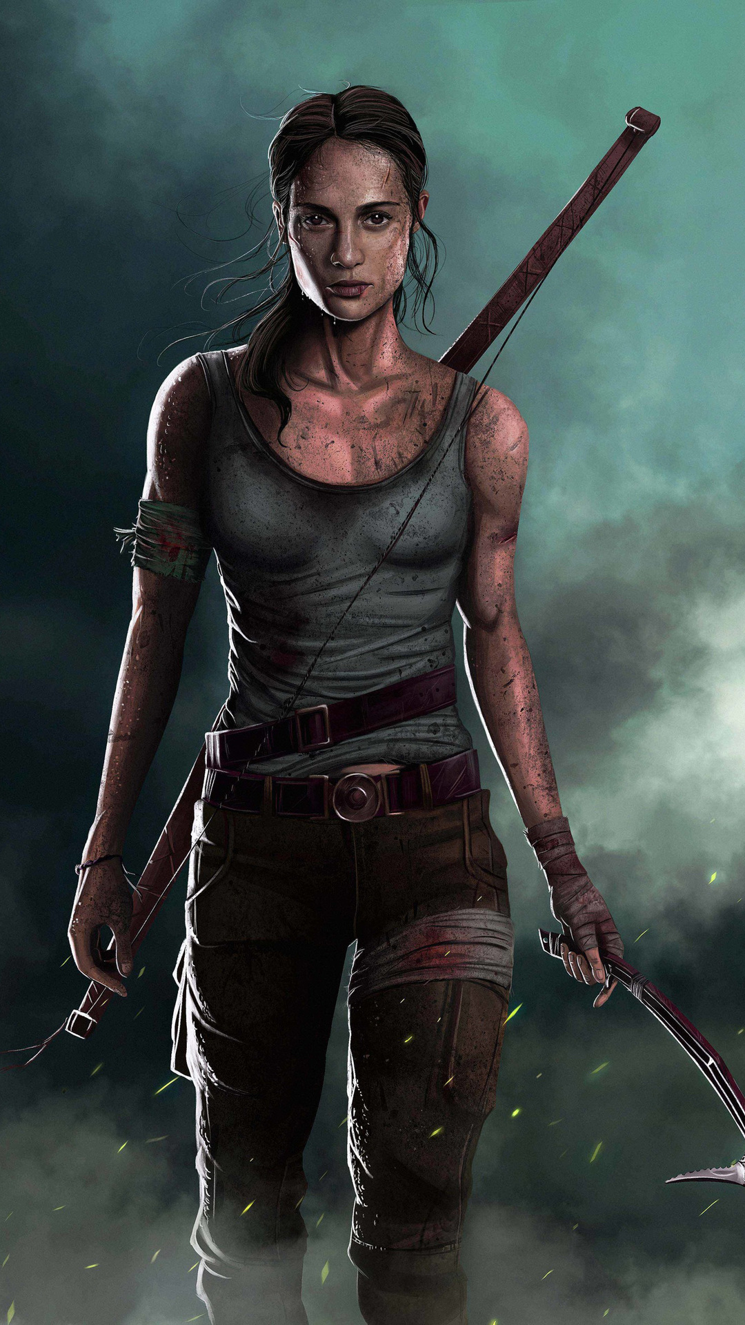 Inspirational feature: Tomb Raider Concept art by