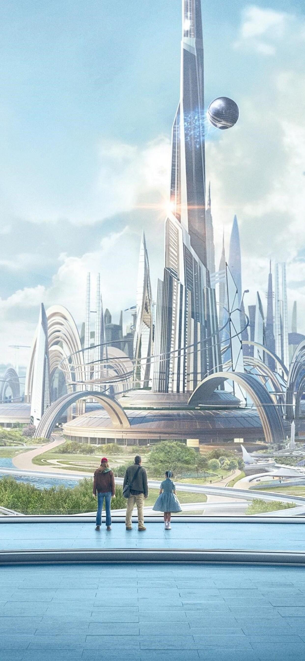 1242x2688 Tomorrowland Movie Iphone Xs Max Hd 4k Wallpapers