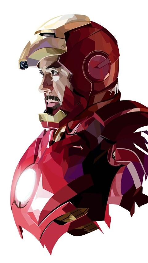 480x854 Tony Stark Iron Man Art Android One HD 4k Wallpapers