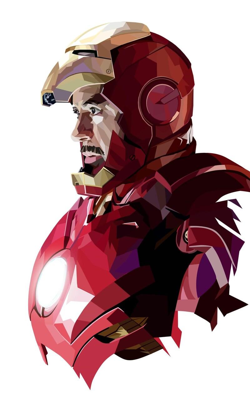 800x1280 Tony Stark Iron Man Art Nexus 7 Samsung Galaxy Tab 10 Note