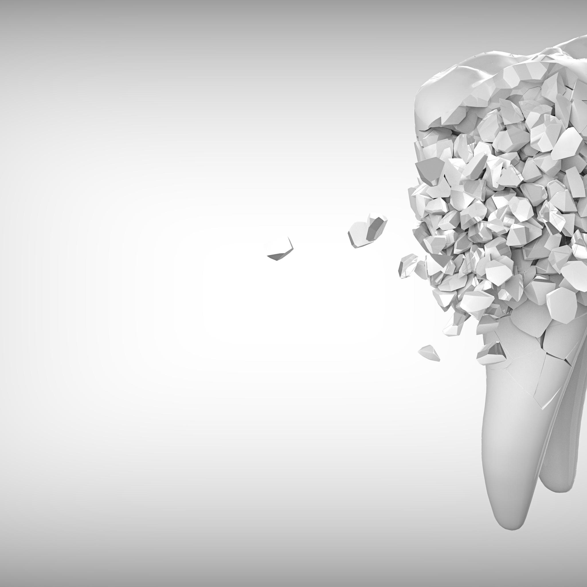 2048x2048 Tooth Creative Art 8k Ipad Air HD 4k Wallpapers