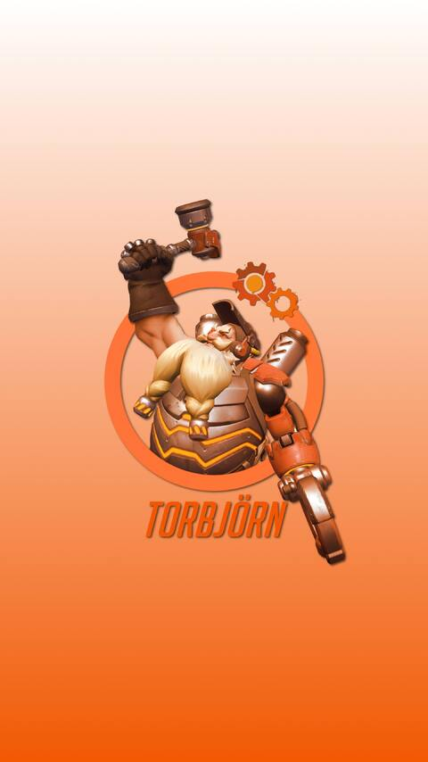 480x854 Torbjorn Overwatch Hero Android One Hd 4k Wallpapers Images