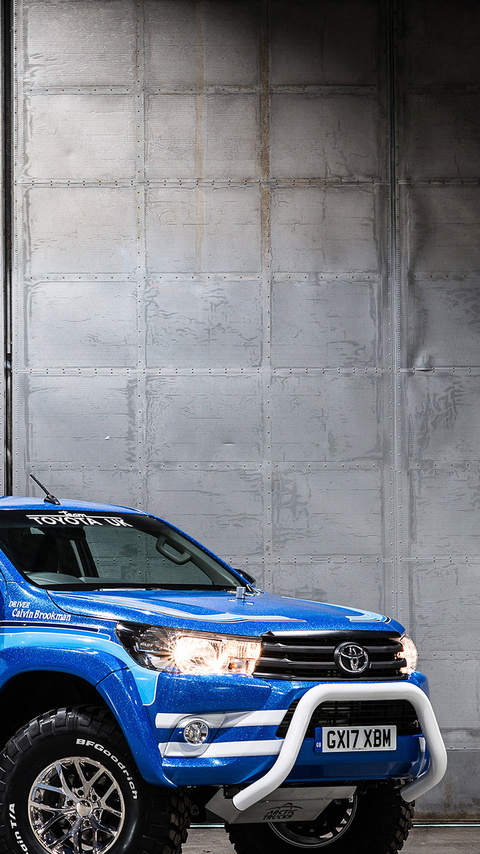 480x854 Toyota Hilux Bruiser 2017 New Android One Hd 4k Wallpapers