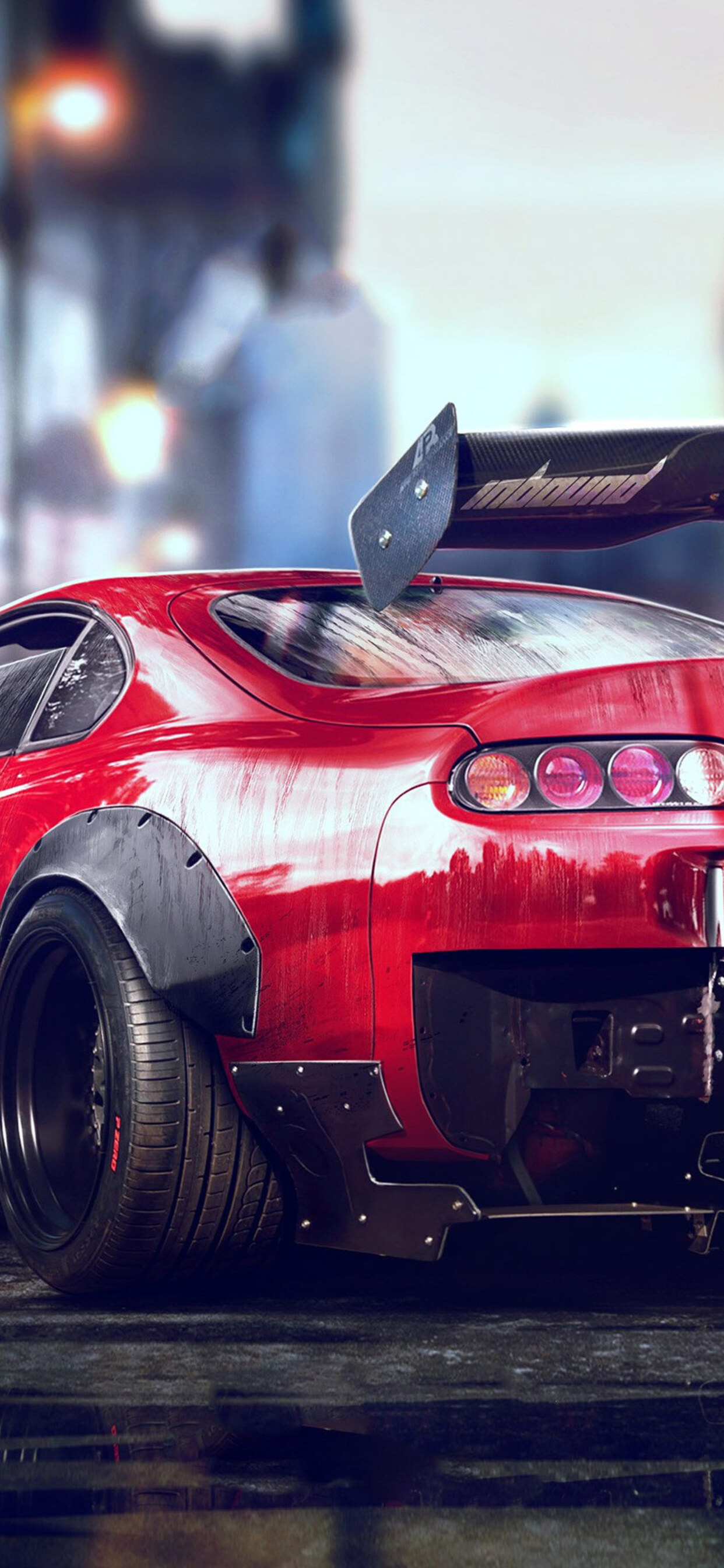 1242x2688 Toyota Supra Iphone Xs Max Hd 4k Wallpapers Images