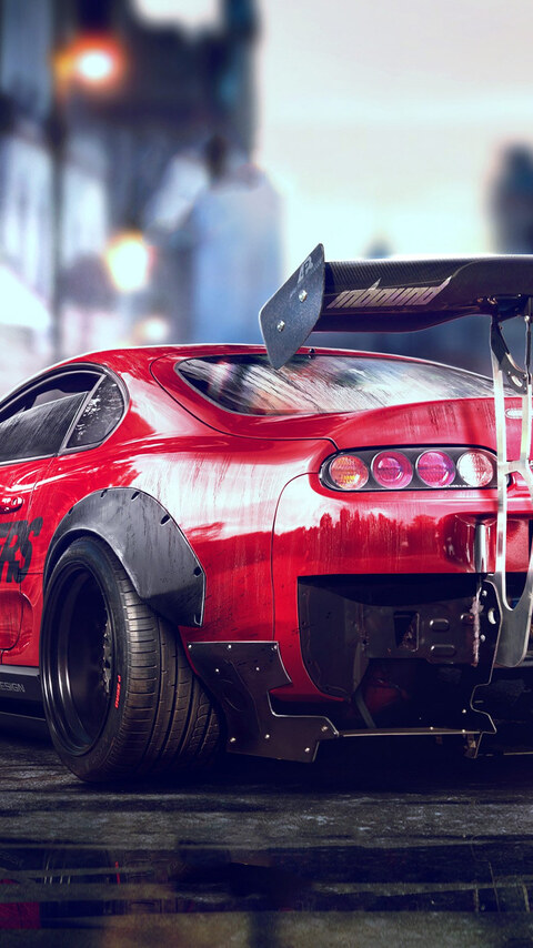480x854 Toyota Supra Android One Hd 4k Wallpapers Images