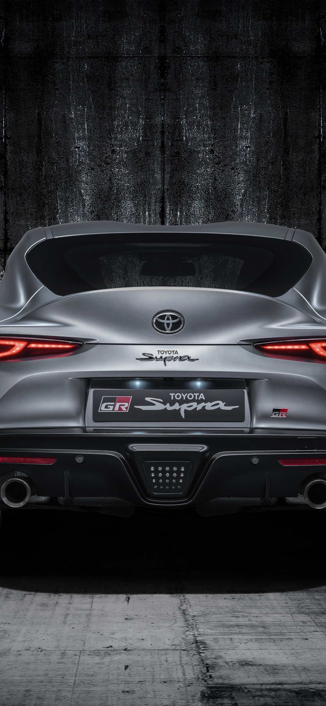 1125x2436 Toyota Supra Grey Studio Rear Iphone Xs Iphone 10 Iphone X Hd 4k Wallpapers Images Backgrounds Photos And Pictures
