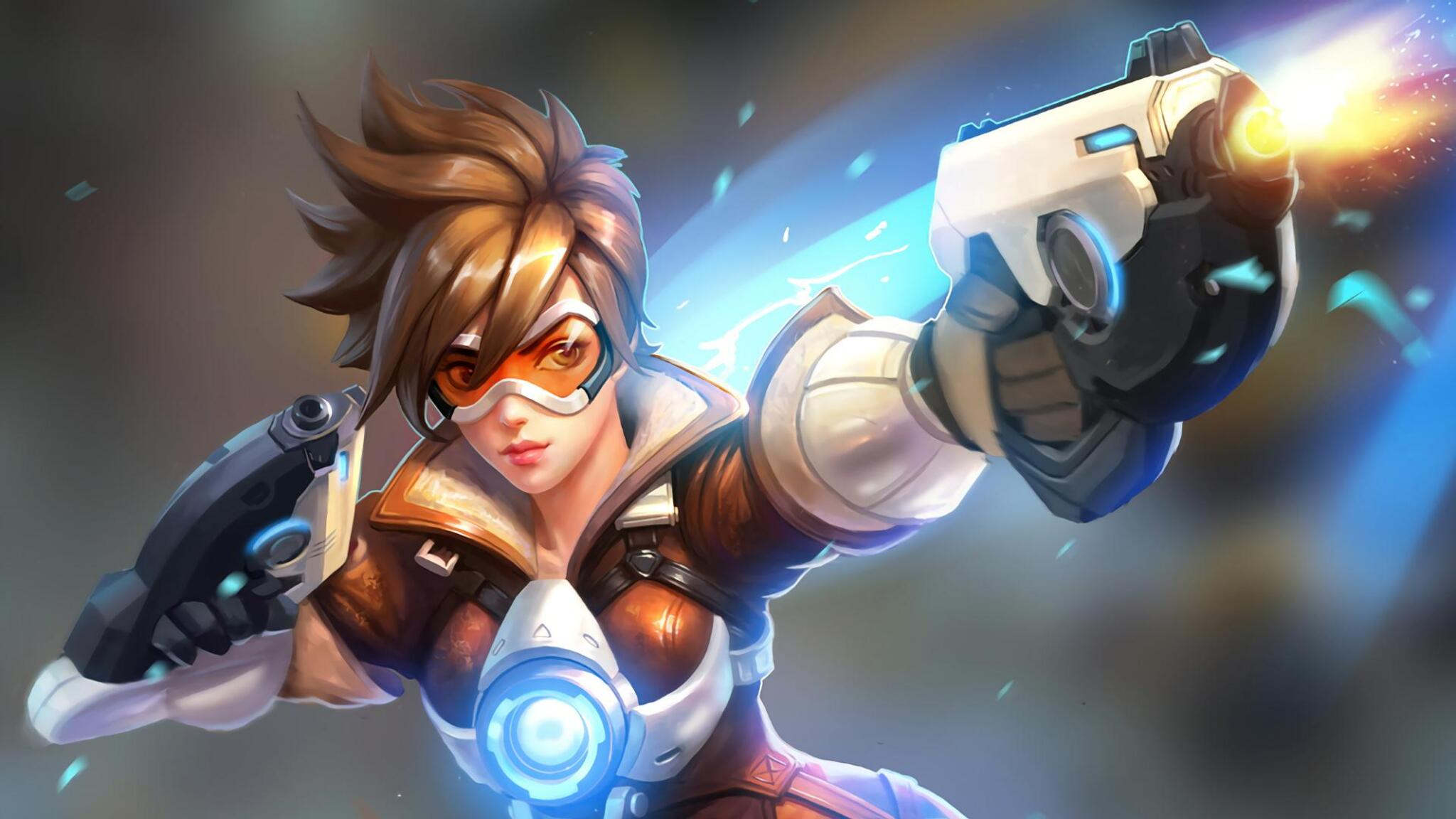 Tracer Overwatch Artwork Hd | Games HD 4k Wallpapers