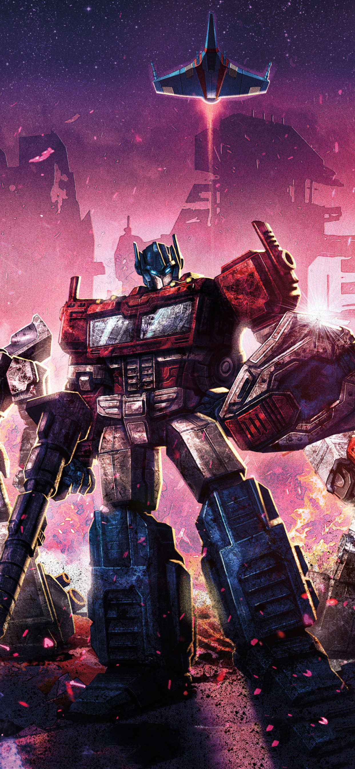 1242x2688 Transformers Siege War For Cybertron Iphone Xs Max Hd 4k