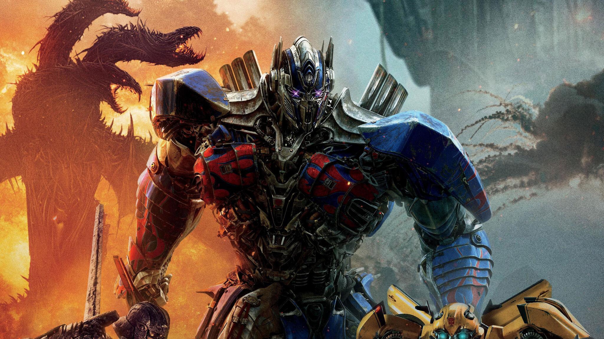 2048x1152 Transformers The Last Knight Optimus Prime 4k 2048x1152