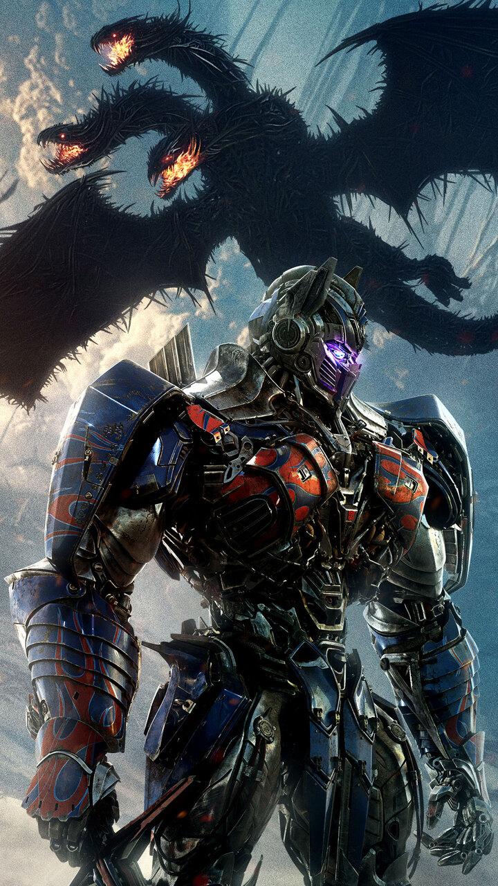720x1280 transformers the last knight optimus prime new