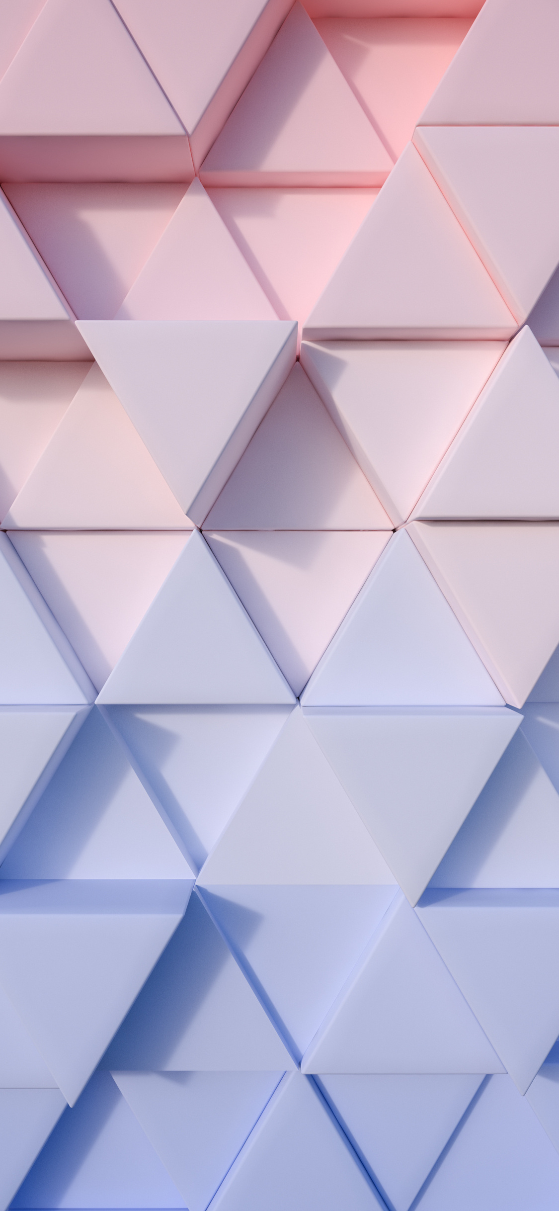 1125x2436 Triangle Pastel 3d 4k Iphone Xs Iphone 10 Iphone X Hd 4k