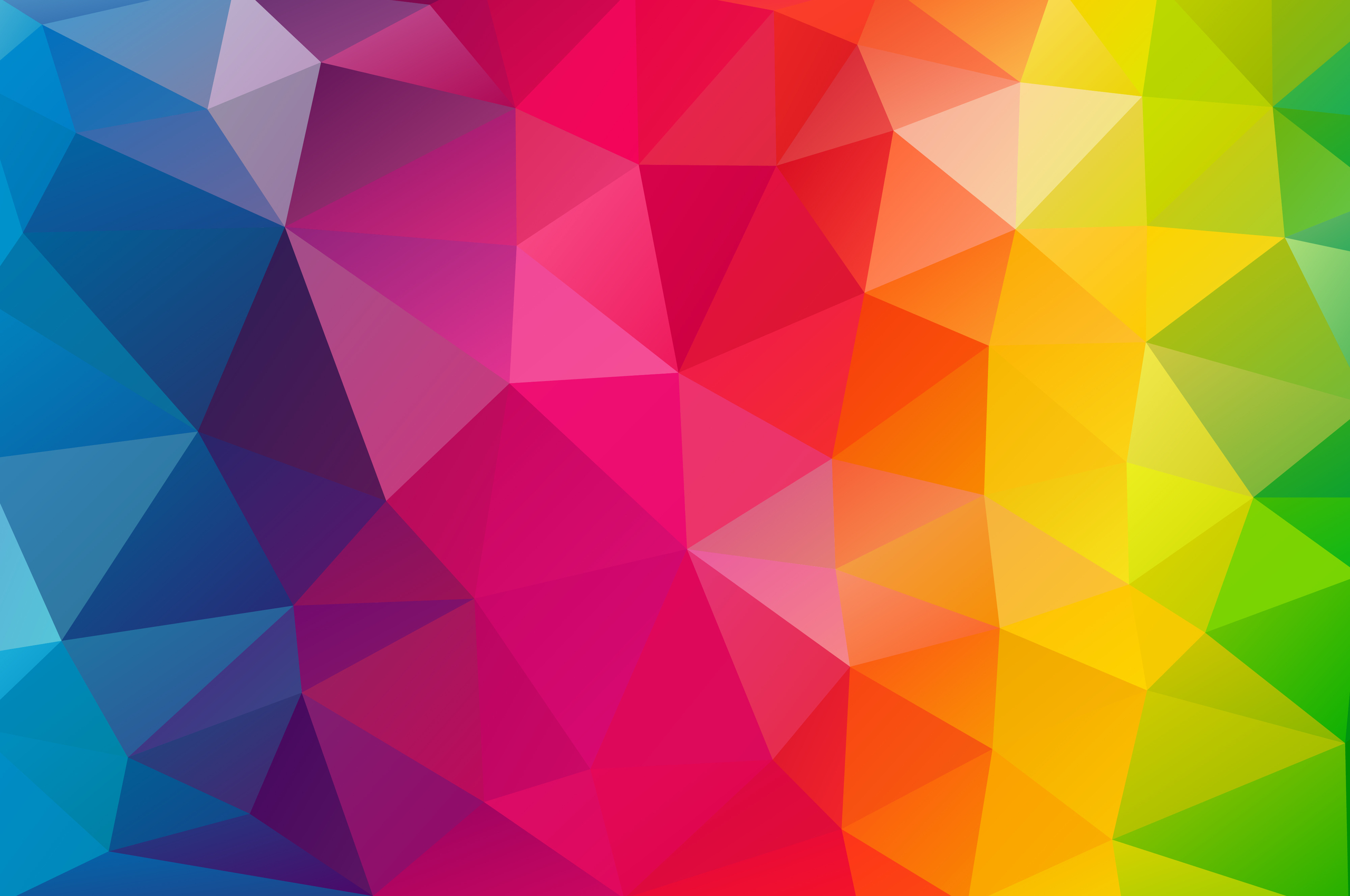 2560x1700 Triangles Colorful Background Chromebook Pixel ...