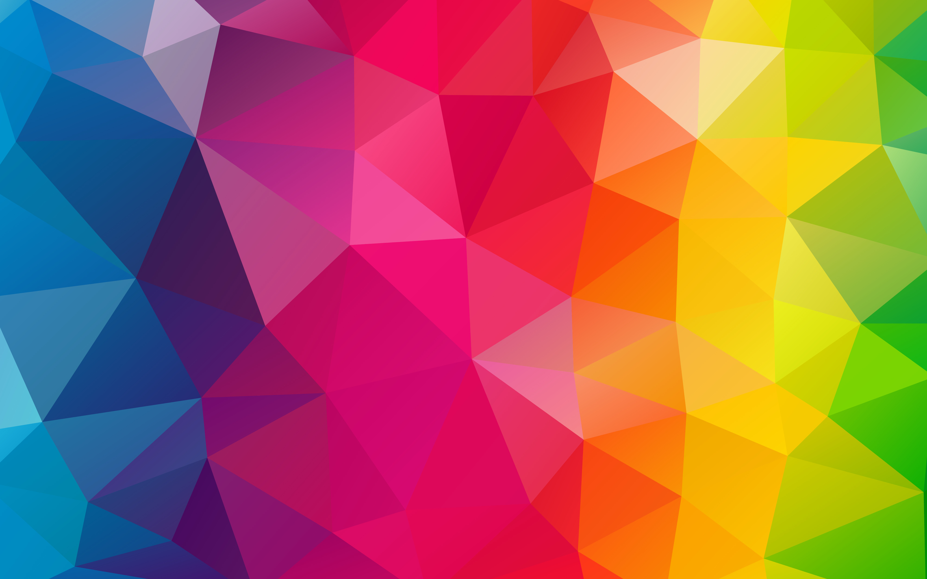 3840x2400 Triangles Colorful Background 4k Hd 4k Wallpapers Images Backgrounds Photos And