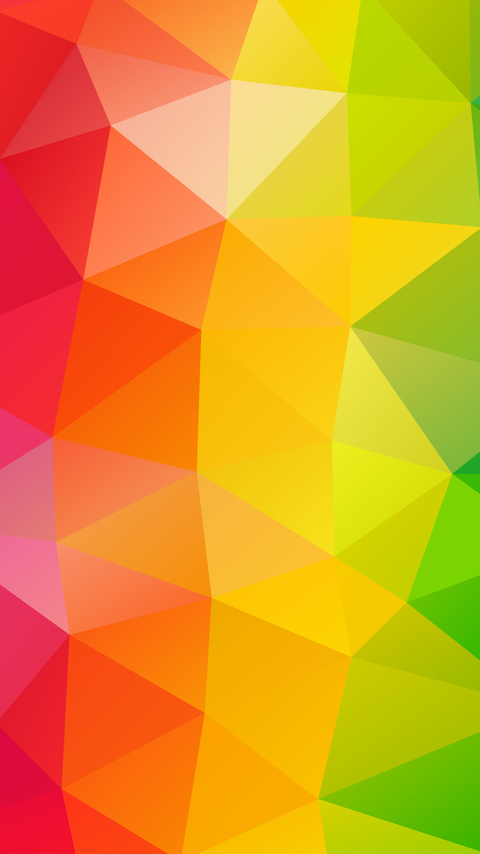 480x854 triangles colorful background android one hd 4k - High definition colorful wallpapers ...