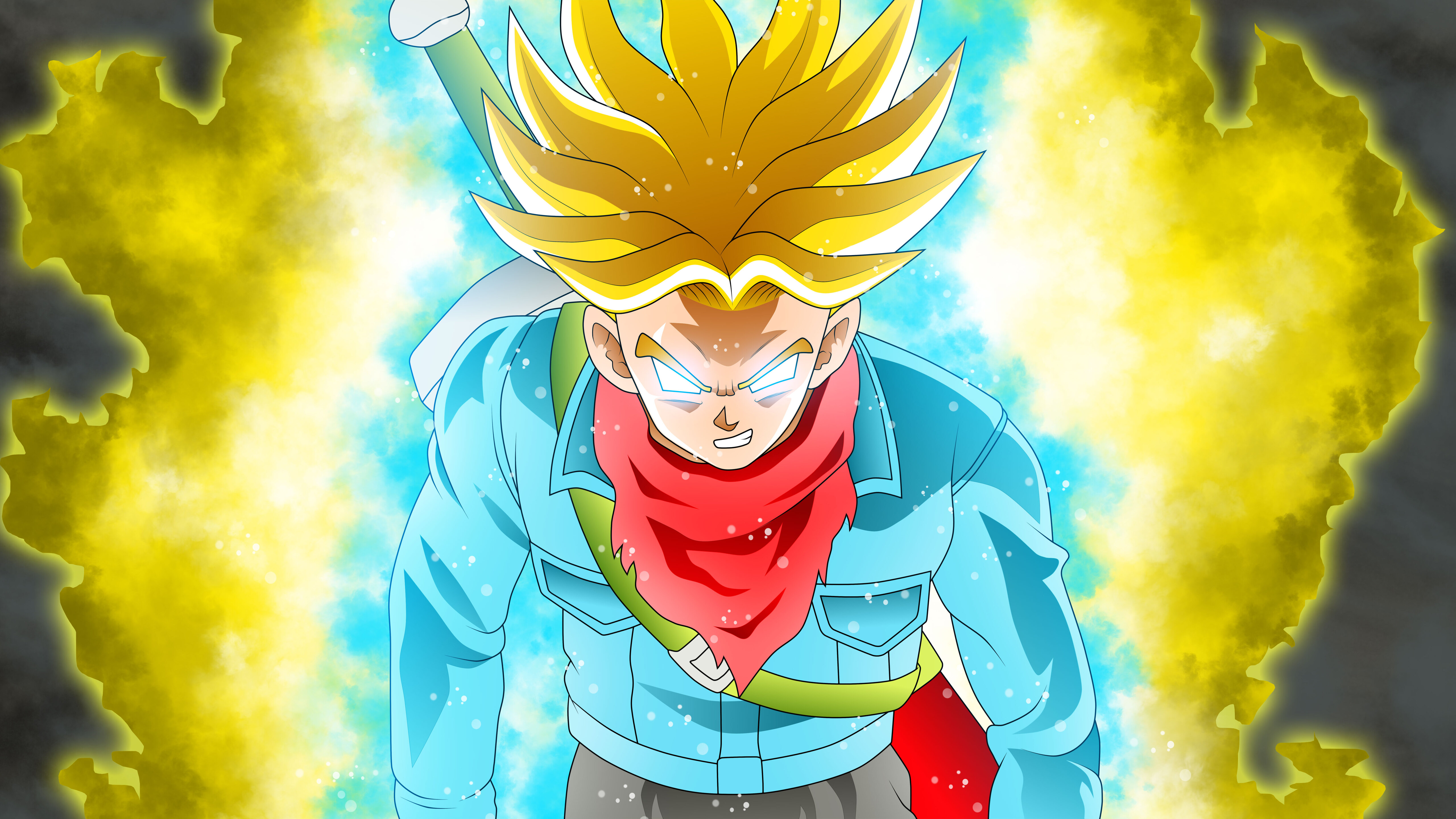 5120x2880 Trunks Dragon Ball Super 5k Hd 4k Wallpapers Images