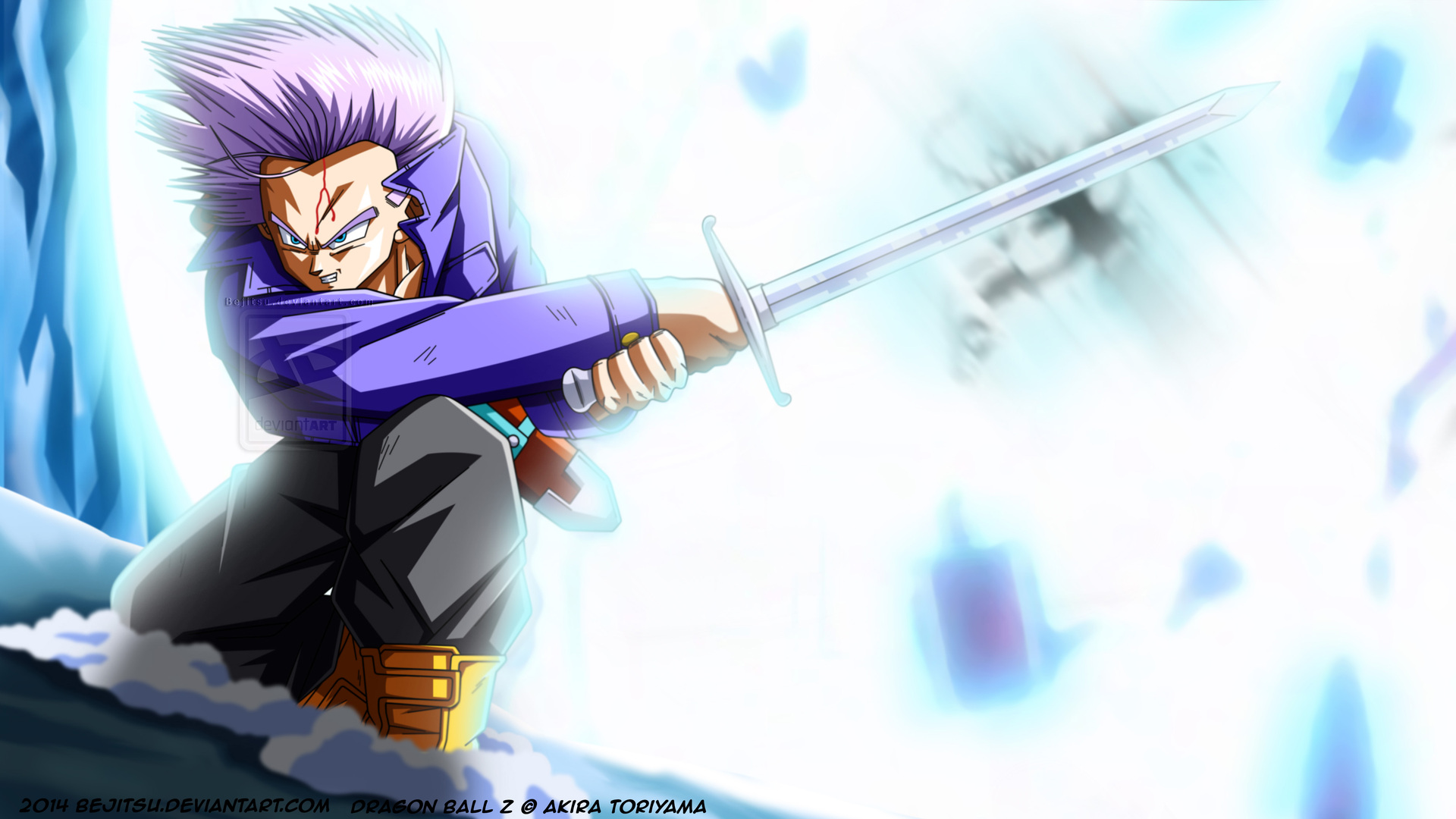 1920x1080 Trunks Dragon Ball Z 4k Laptop Full Hd 1080p Hd 4k Wallpapers Images Backgrounds Photos And Pictures