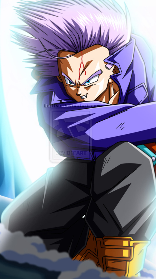 540x960 Trunks Dragon Ball Z 4k 540x960 Resolution Hd 4k