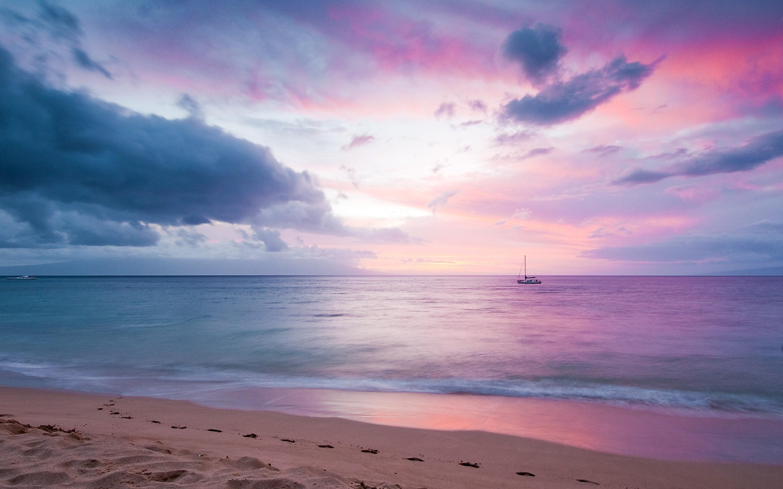 2880x1800 Twilight Island Beach Sunset Macbook Pro Retina Hd 4k