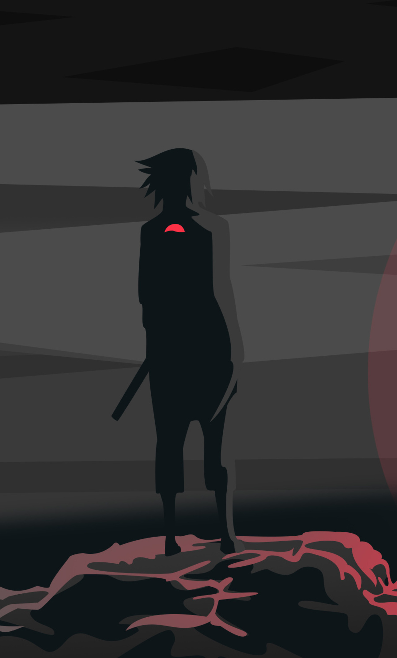 1280x2120 Uchiha Sasuke Naruto Iphone 6 Hd 4k Wallpapers Images