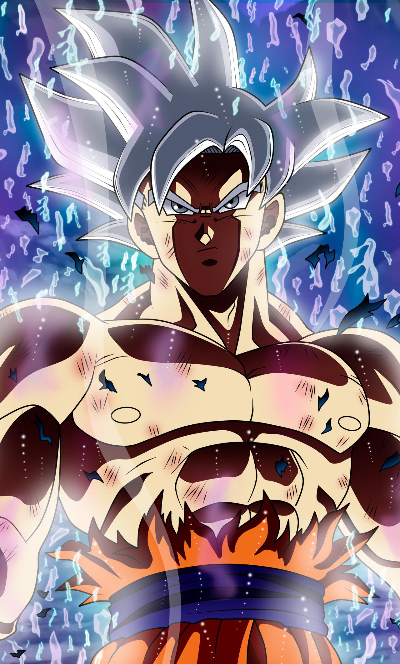 1280x2120 Ultra Instinct Goku Dragon Ball 5k iPhone 6+ HD ...