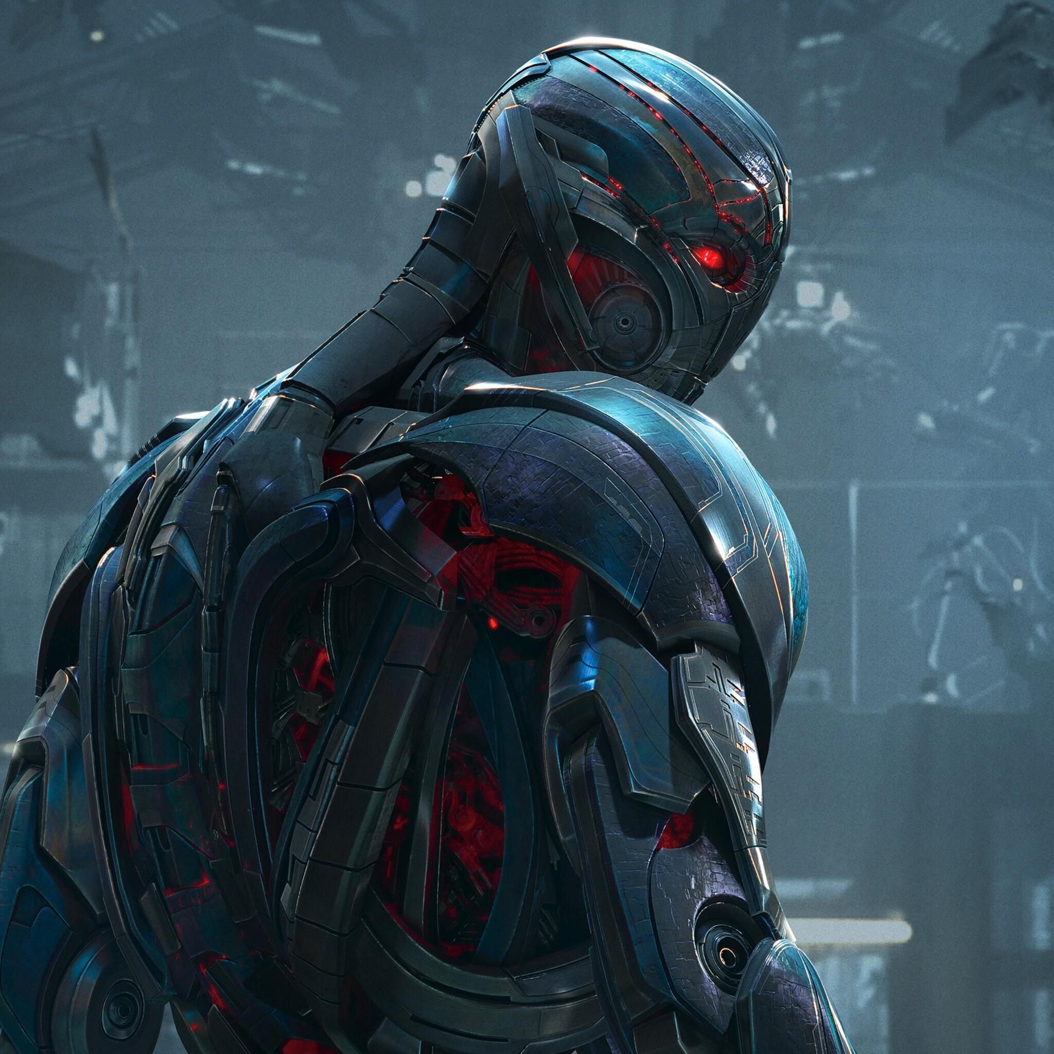2048x2048 Ultron In Avengers Age Of Ultron Ipad Air HD 4k ...