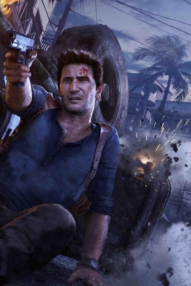 640x960 Uncharted 4 A Thiefs End Iphone 4 Iphone 4s Hd 4k