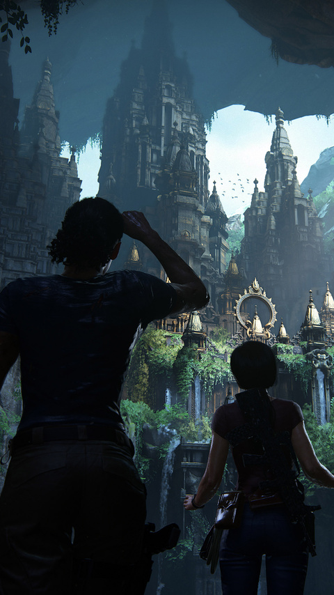 480x854 Uncharted The Lost Legacy E3 2017 Android One Hd 4k
