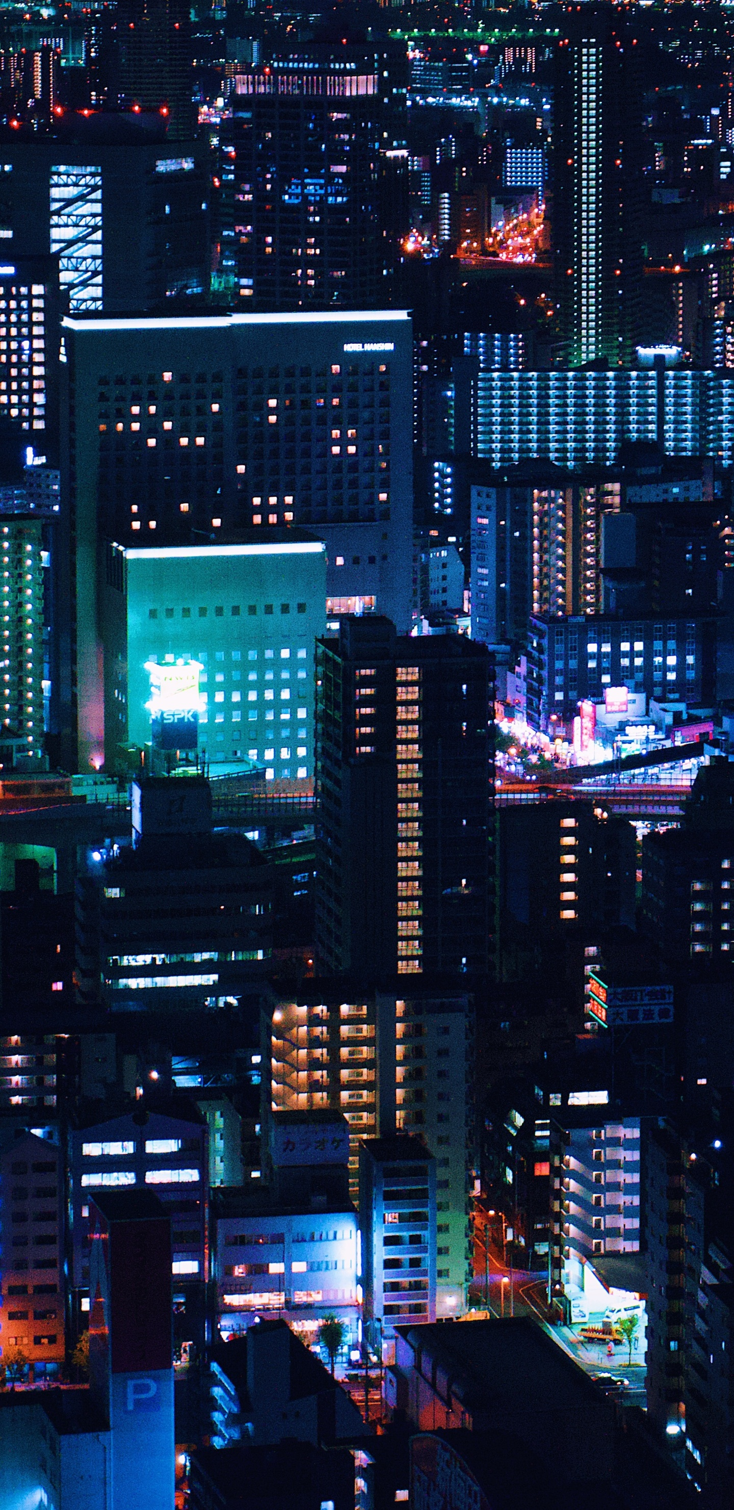 1440x2960 Urban Night City Down Town 5k Samsung Galaxy Note 9 8 S9 S8 S8 Qhd Hd 4k Wallpapers Images Backgrounds Photos And Pictures