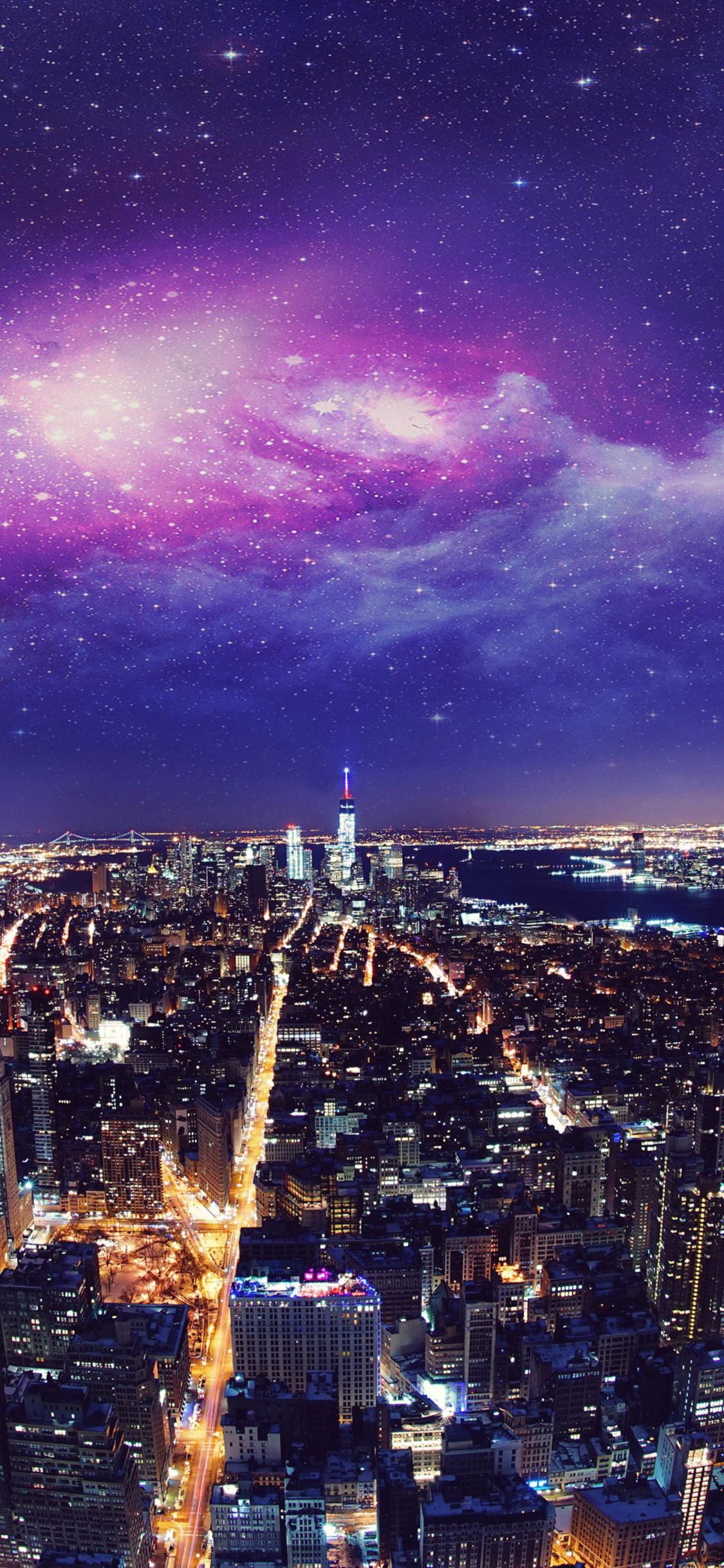 Usa New York City Night 4k Iq