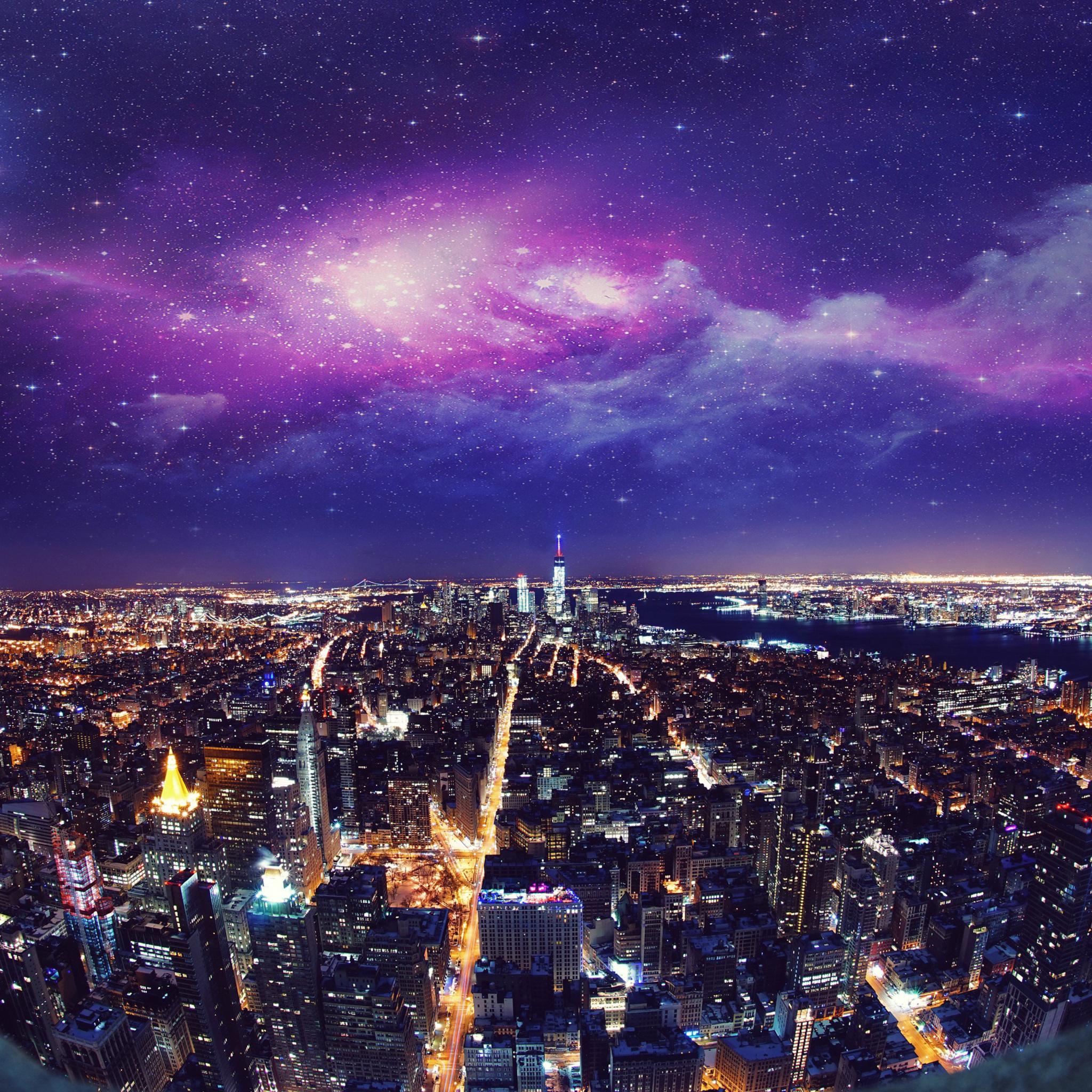 2048x2048 usa new york city night 4k ipad air hd 4k wallpapers usa new york city night 4k iqg voltagebd Images