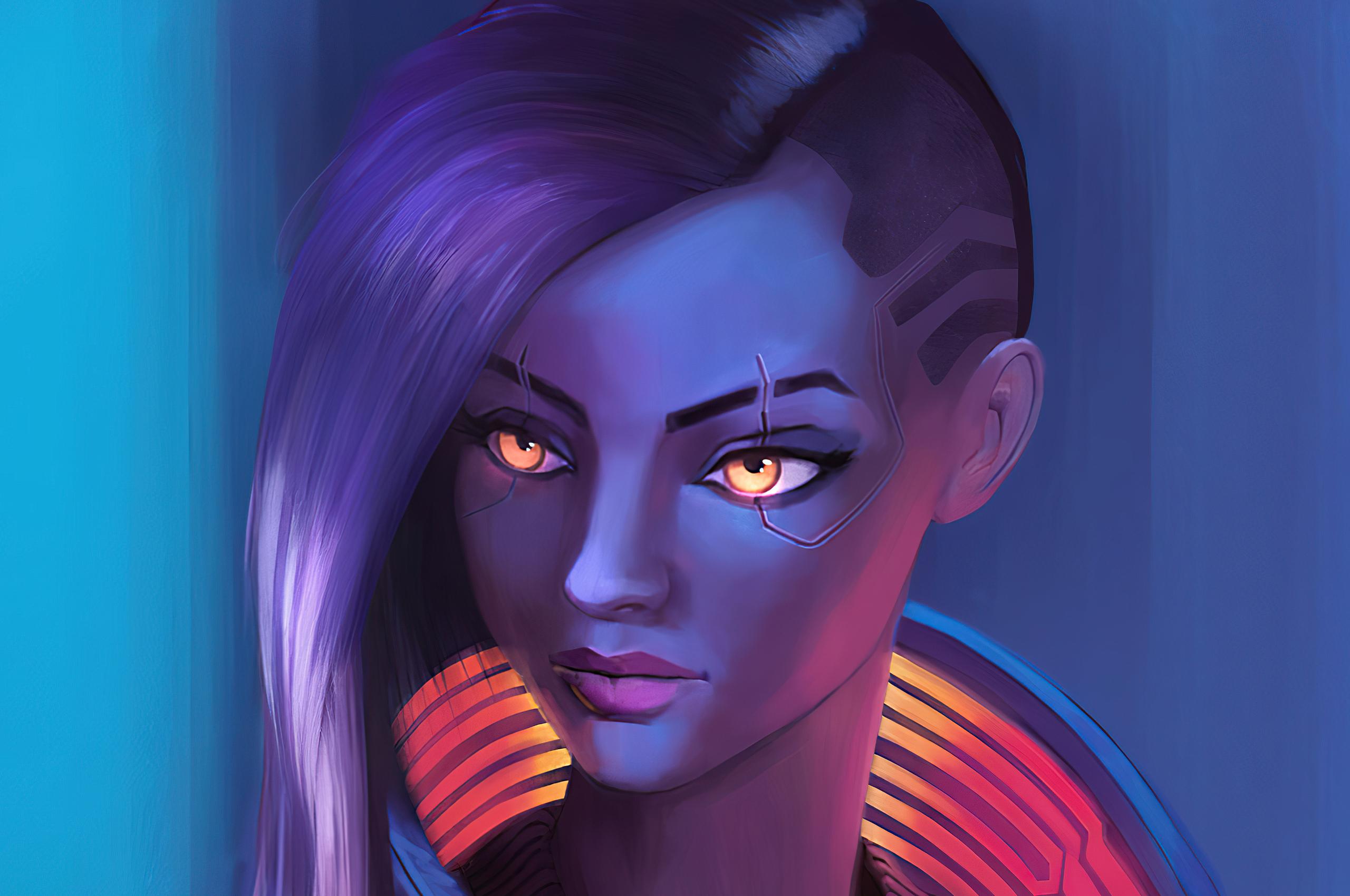 2560x1700 V Character Cyberpunk 2077 Paint Art 4k ...