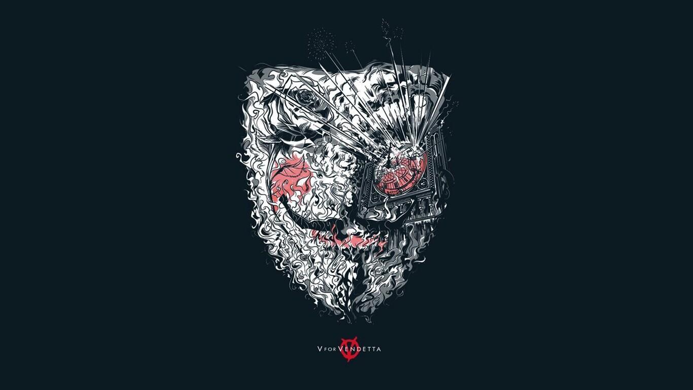 V For Vendetta Qhd