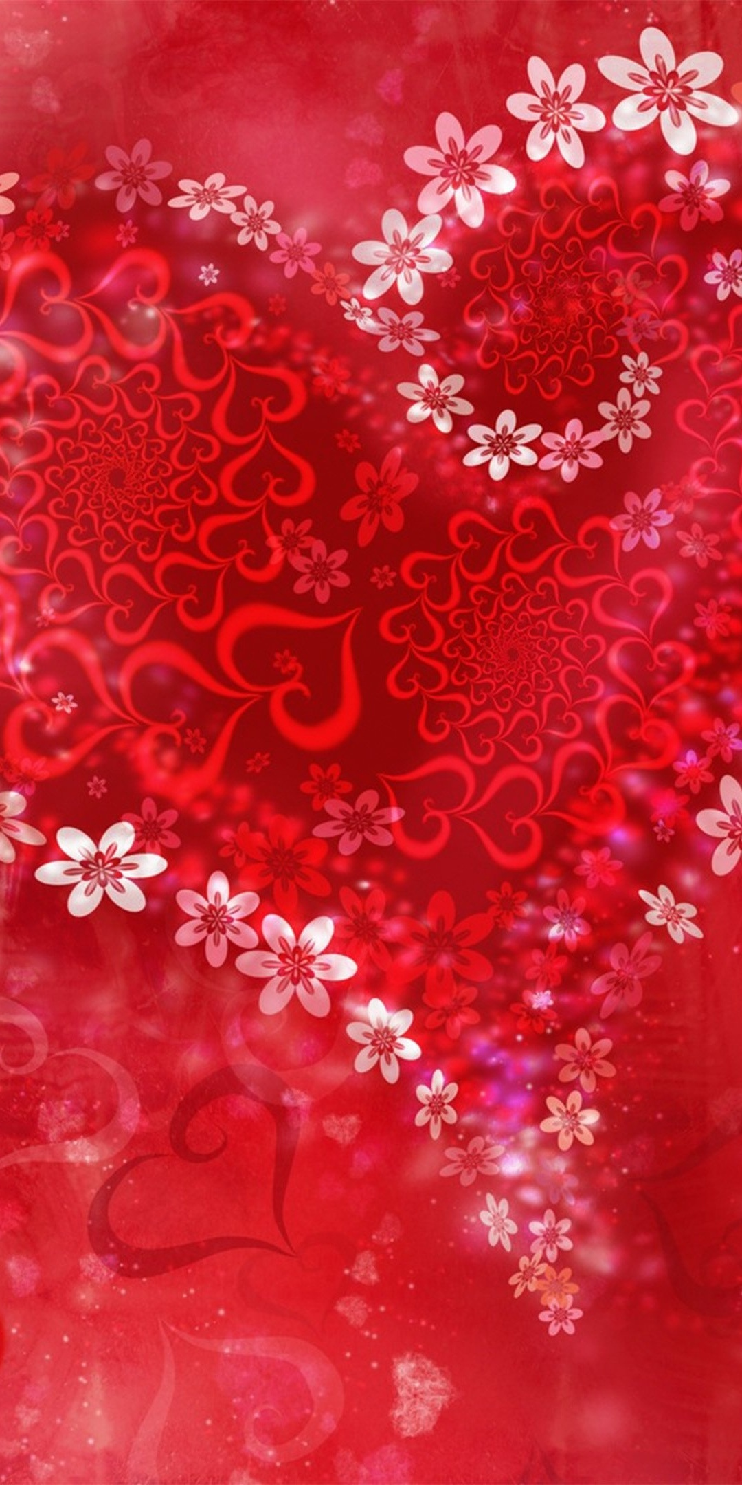 1080x2160 Valentine Day Heart 4k One Plus 5thonor 7xhonor View 10