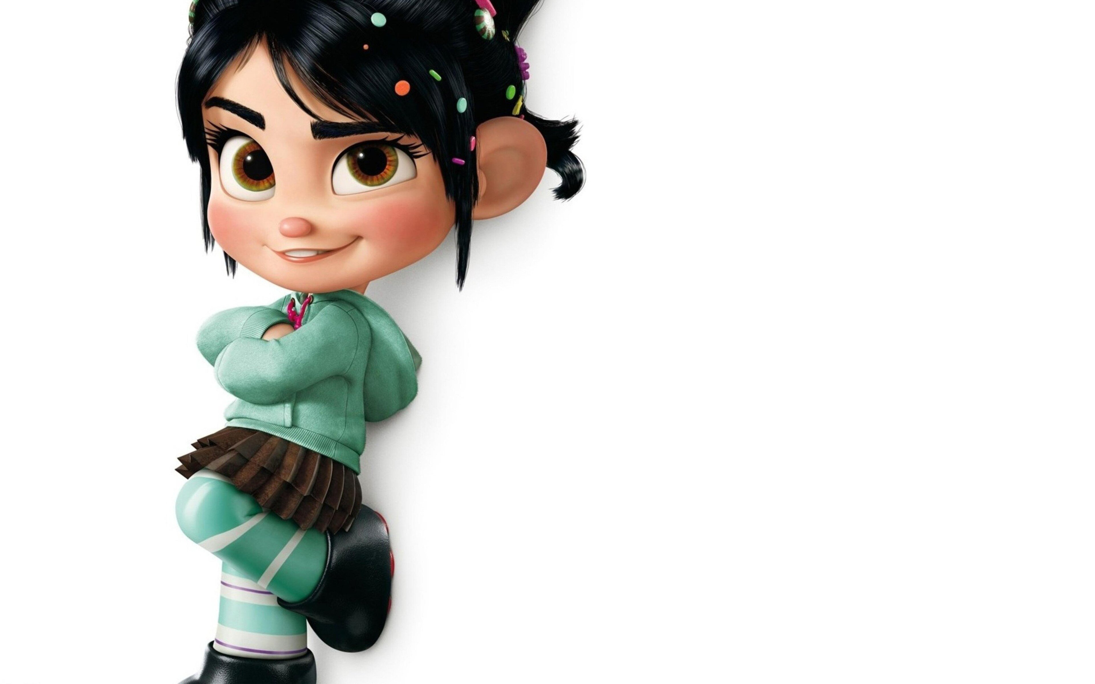 Wreck It Ralph Animation Movie 4k Hd Desktop Wallpaper For: 3840x2400 Vanellope Wreck It Ralph 4k HD 4k Wallpapers