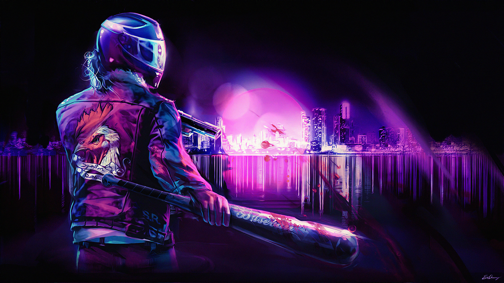 1920x1080 Vaporwave Violence 4k Laptop Full Hd 1080p Hd 4k Wallpapers Images Backgrounds Photos And Pictures