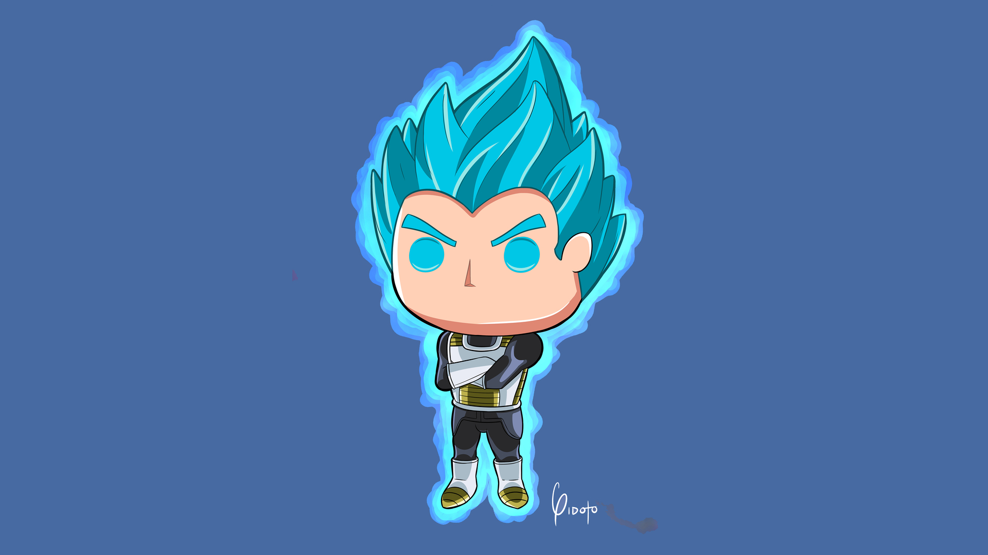 Vegeta Dragon Ball Super 5k Artwork Yx
